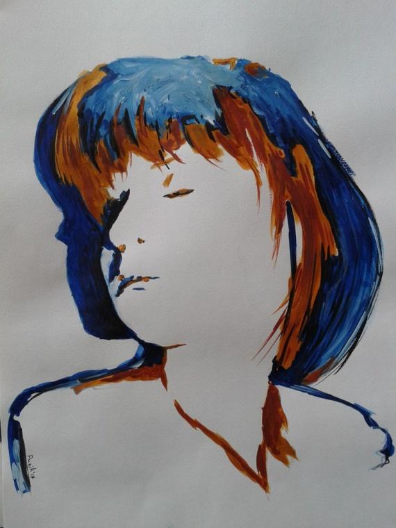 Альона, художник Валерий Пузик