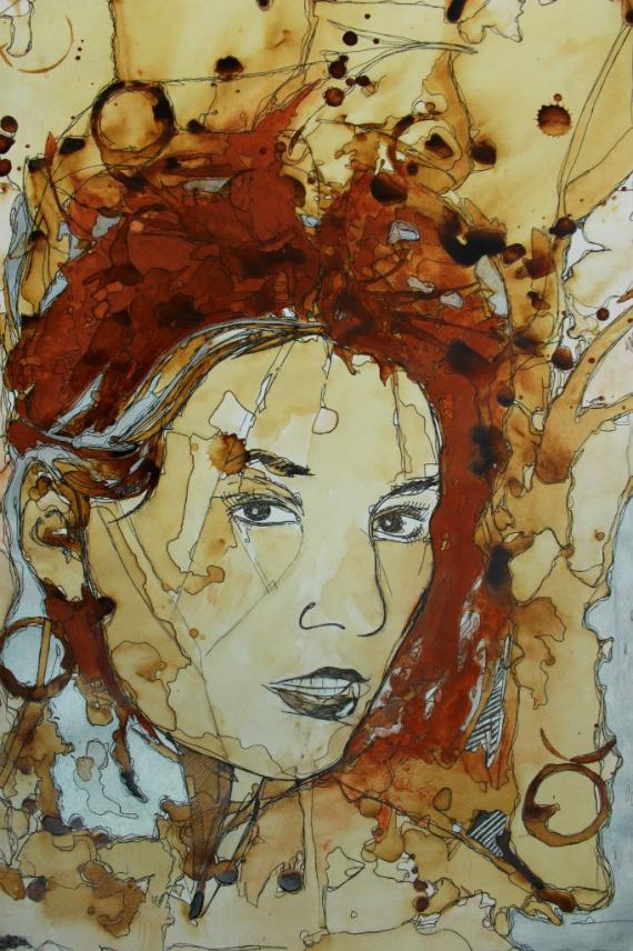 Катя Бабкина, художник Валерий Пузик
